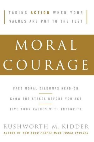 Moral Courage book image