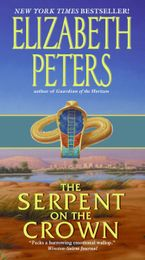 The Serpent on the Crown Paperback  by Elizabeth Peters