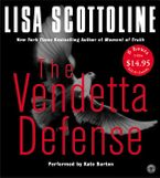 The Vendetta Defense CD Low Price CD-Audio ABR by Lisa Scottoline