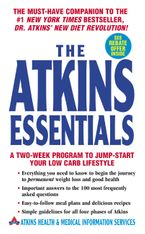 The Atkins Essentials Paperback  by Atkins Health & Medical Information Serv
