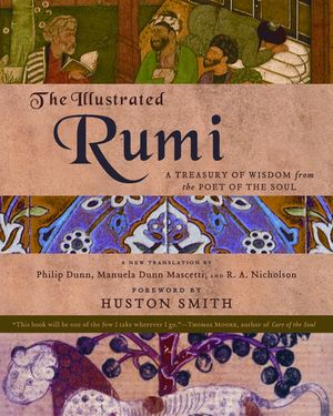 The Illustrated Rumi book image