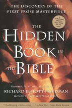 The Hidden Book in the Bible Paperback  by Richard Elliott Friedman