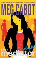 The Mediator #6: Twilight Paperback  by Meg Cabot
