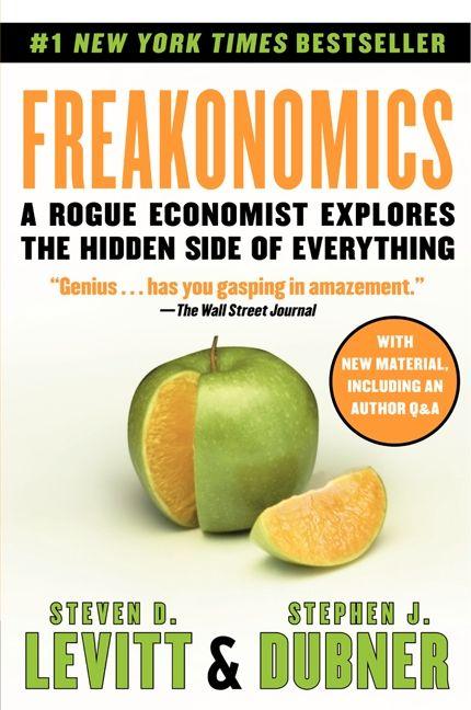 Freakonomics - Steven D  Levitt - Paperback