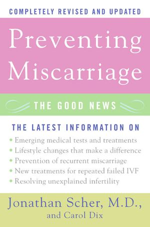 Preventing Miscarriage book image