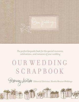 Our Wedding Scrapbook book image