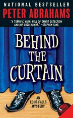 Behind the Curtain Paperback  by Peter Abrahams
