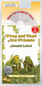 Frog and Toad Are Friends Book and CD CD-Audio ABR by Arnold Lobel
