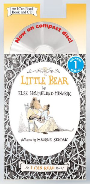 Little Bear Book and CD book image