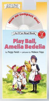 Play Ball, Amelia Bedelia Book and CD