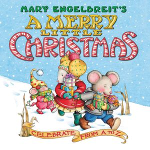 Mary Engelbreit's A Merry Little Christmas Board Book book image