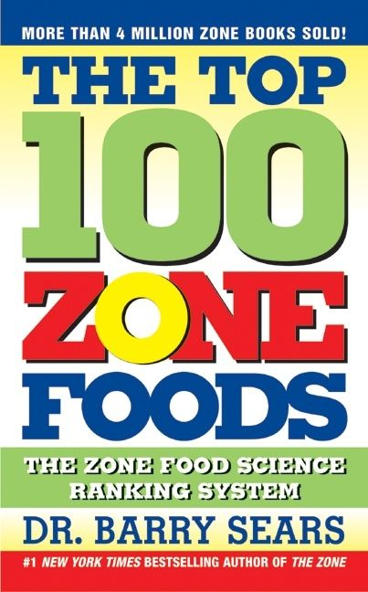 Food Book Cover Zone : The top zone foods barry sears paperback