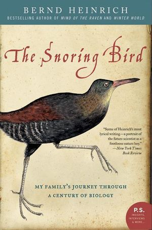 The Snoring Bird book image