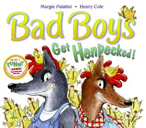 Bad Boys Get Henpecked! book image