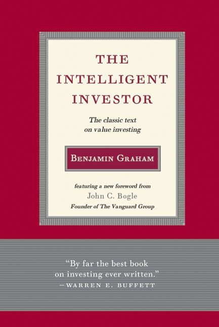 Book cover image: Intelligent Investor: The Classic Text on Value Investing