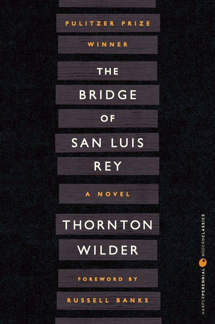 the bridge of san luis rey essay questions Bridge to terabithia is wonderful and beautiful and all of the great imaginative things that children should experience as they grow up it is realistic and gritty and a true look at all that is hardship in a small town and when attending a small school.