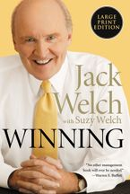Winning Paperback LTE by Jack Welch