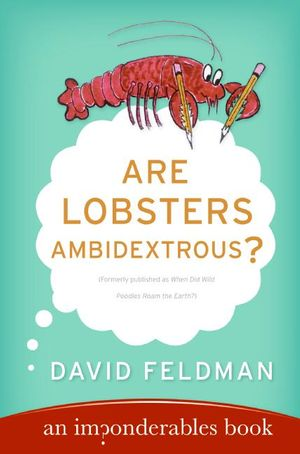 Are Lobsters Ambidextrous? book image