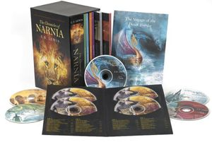 The Chronicles of Narnia 7-Book and Audio Box Set book image