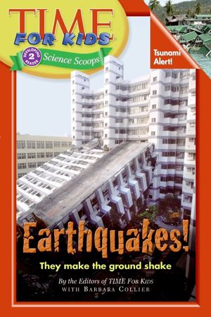 Time For Kids: Earthquakes! book image