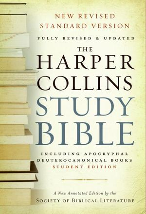 HarperCollins Study Bible - Student Edition book image