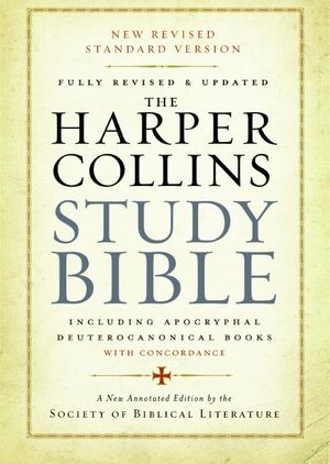 The HarperCollins Study Bible book image