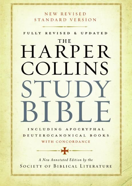 The harpercollins study bible harold w attridge hardcover read a sample fandeluxe Choice Image