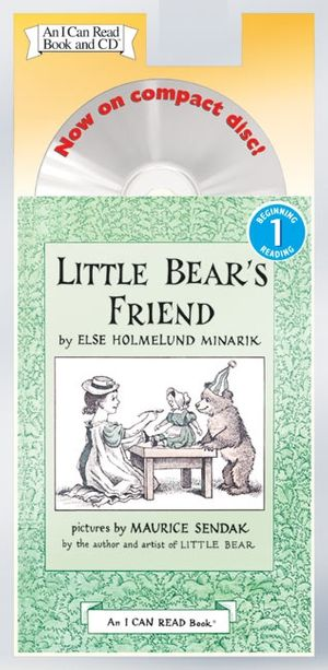 Little Bear's Friend Book and CD book image