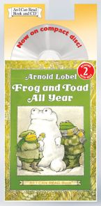Frog and Toad All Year Book and CD CD-Audio ABR by Arnold Lobel