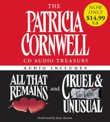 The Patricia Cornwell CD Audio Treasury Low Price