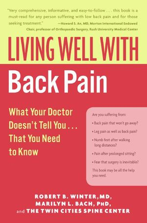 Living Well with Back Pain book image