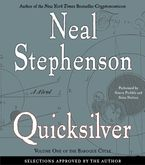 Quicksilver Downloadable audio file ABR by Neal Stephenson