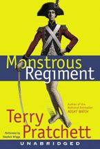 Monstrous Regiment Downloadable audio file UBR by Terry Pratchett