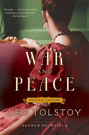 War and Peace book image