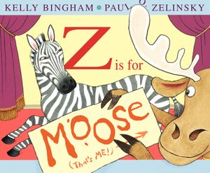 Z Is for Moose book image