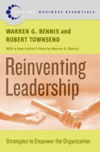 Book cover image: Reinventing Leadership: Strategies to Empower the Organization