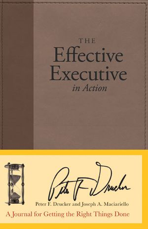 The Effective Executive in Action book image