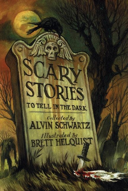 Image result for scary stories to tell in the dark book cover