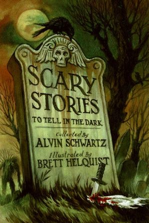 Scary Stories to Tell in the Dark Paperback  by Alvin Schwartz