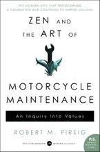 Zen and the Art of Motorcycle Maintenance Paperback  by Robert M. Pirsig