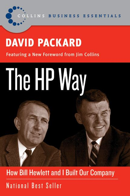 Book cover image: The HP Way: How Bill Hewlett and I Built Our Company
