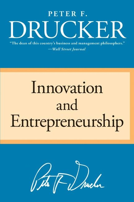 Book cover image: Innovation and Entrepreneurship
