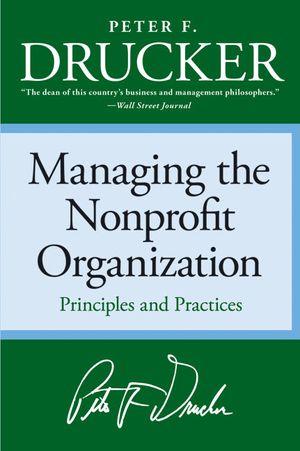 Managing the Non-profit Organization book image