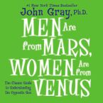 Men are From Mars, Women are From Venus Downloadable audio file UBR by John Gray