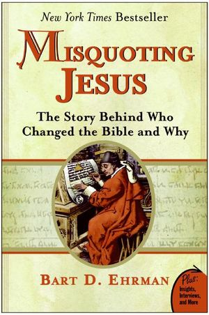 Misquoting Jesus book image
