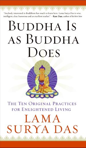 Buddha Is as Buddha Does book image