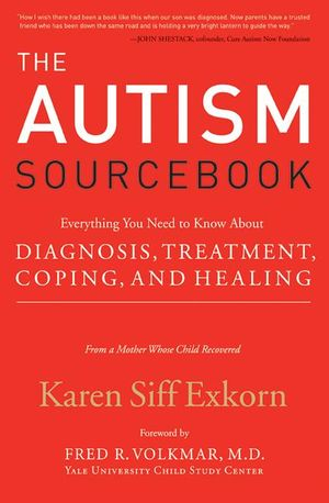 The Autism Sourcebook book image