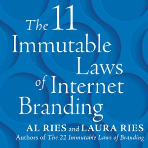 The 11 Immutable Laws of Internet Branding book image