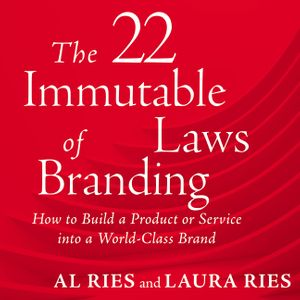 22 Immutable Laws of Branding book image