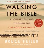 Walking the Bible CD Low Price CD-Audio ABR by Bruce Feiler